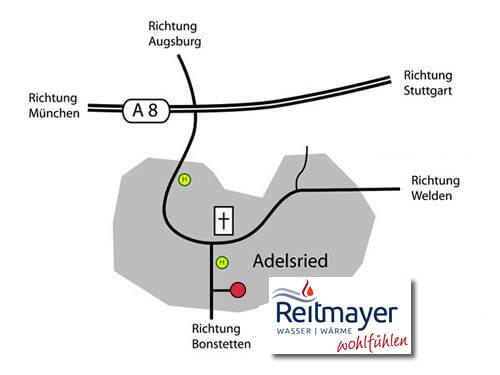 Anfahrt Reitmayer GmbH