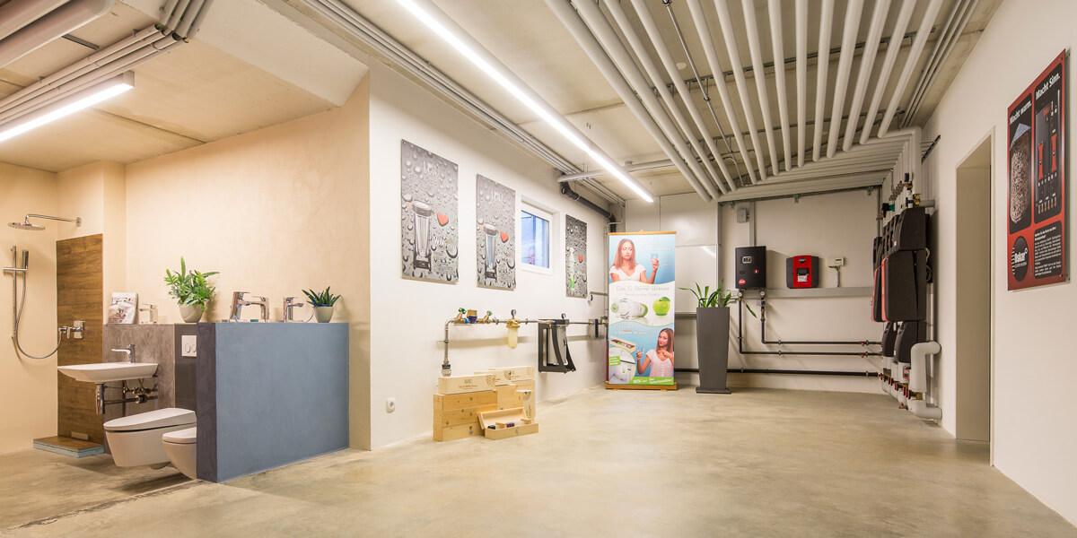 Heizung Reitmayer Wärme Wasser Heizungstechnik- und Sanitärbetrieb, Showroom