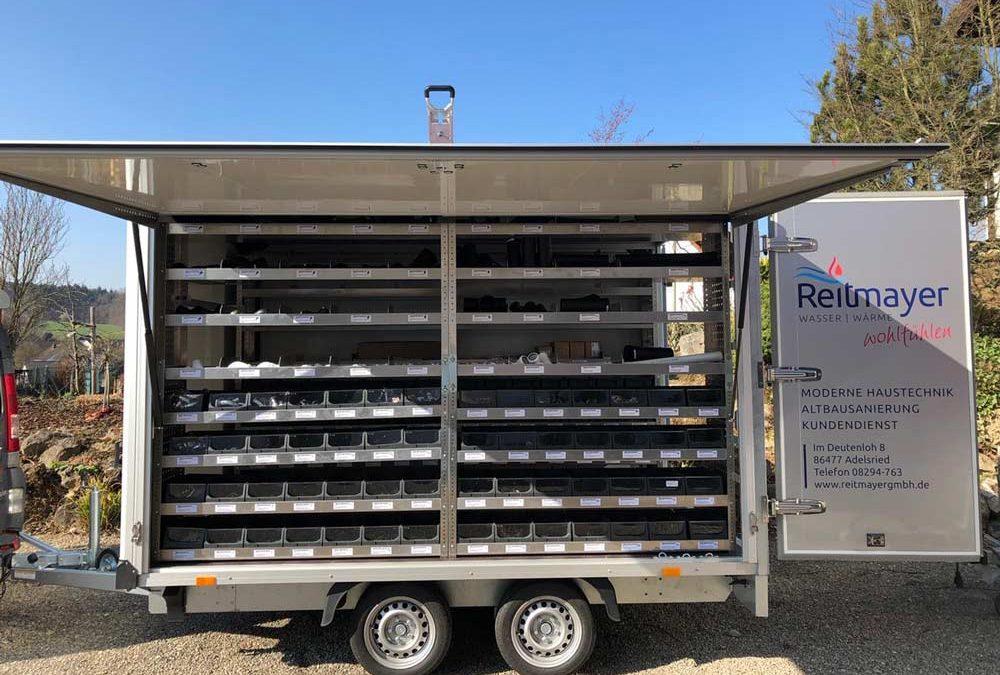 NEU: Baustellen-Anhänger für maximale Effizienz