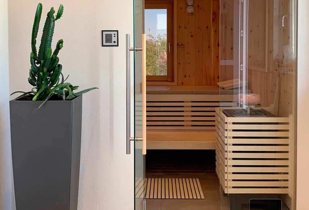 Der Traum von der eigenen Sauna